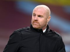 """Sean Dyche has revealed there are """"a couple"""" of cornavirus cases at the club ahead of the clash with MK Dons (Michael Regan/PA)."""