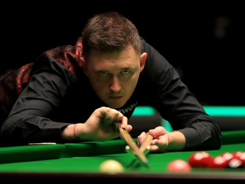 Kyren Wilson beat Gary Wilson 6-2 in the first round of the Betfred Masters (Simon Cooper/PA)