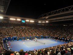Melbourne's Rod Laver Arena (PA)