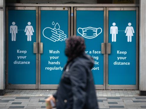 The medic said following the rules on face masks and social distancing can stop coronavirus spreading (Andrew Matthews/PA)