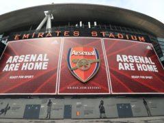 William Saliba has left Arsenal to join Nice on loan (Mike Egerton/PA)