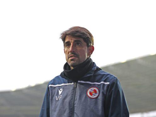 Reading manager Veljko Paunovic speaks to the media after the Sky Bet Championship match at the Madejski Stadium, Reading.