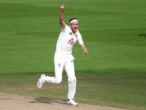Stuart Broad was among the wickets (Mike Hewitt/PA)
