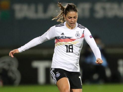 Germany's Melanie Leupolz scored twice for Chelsea (Niall Carson/PA)