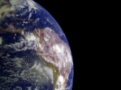 Earth has survived as a habitable planet because of 'good luck', scientists have said (Nasa/JPL/USGS/PA)