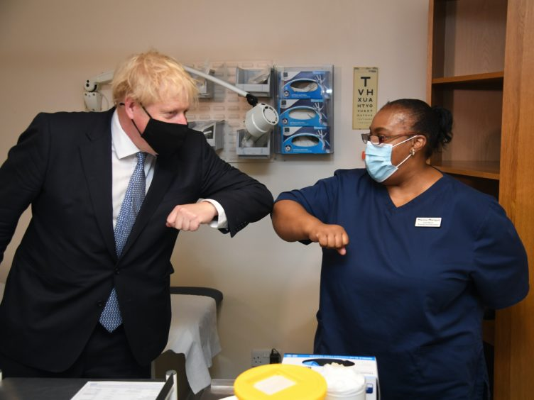 Boris Johnson is encouraging people to make the move into the public sector (Evening Standard/Jeremy Selwyn/PA)