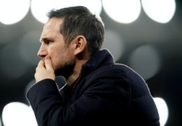 Frank Lampard has much to ponder (Jon Super/PA)