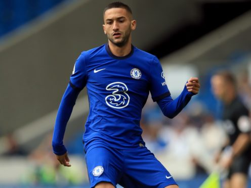 Hakim Ziyech hopes to return for Chelsea against Manchester City (Adam Davy/PA)