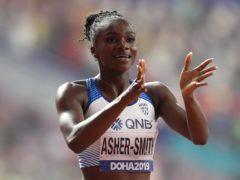Dina Asher-Smith will return to the track on Friday evening (Martin Rickett/PA)
