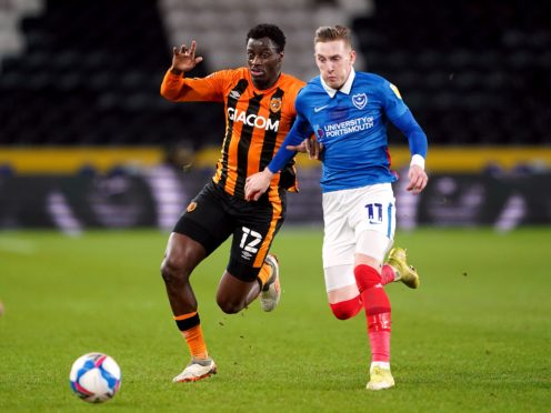 Ronan Curtis will be available for Portsmouth after missing three matches with coronavirus (Zac Goodwin/PA)