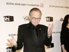Larry King's sons have paid tribute to him (Yui Mok/PA)