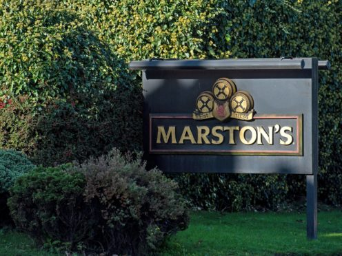 Marston's boss Ralph Findlay has called for greater support for the pubs sector from the Government (Jacob King/PA)