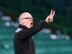 John Hughes knows hard work lies ahead for Ross County (Jeff Holmes/PA)