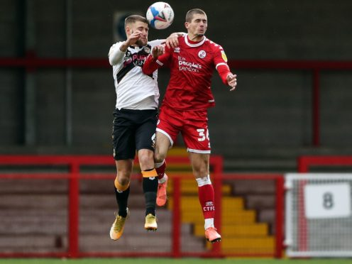 Max Watters, right, has been in red-hot form for Crawley (Kieran Cleeves/PA)