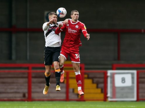 Max Watters (right) is line to make his Cardiff debut following his weekend move from Crawley (Kieran Cleeves/PA)