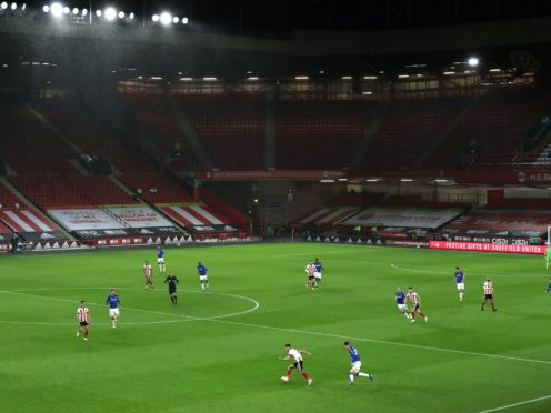 Premier League football will continue to be played in empty grounds while England goes into lockdown again (George Wood/PA)