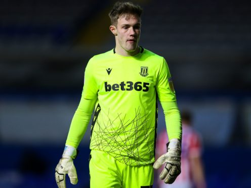 Stoke goalkeeper Joe Bursik has made an impressive start in the Championship (Barrington Coombs/PA)