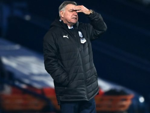 Sam Allardyce wants his West Brom players to take responsibility for jobs at the club (Shaun Botterill/PA)