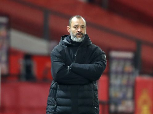 Nuno Espirito Santo is likely to pick from an unchanged Wolves squad (Martin Rickett/PA)
