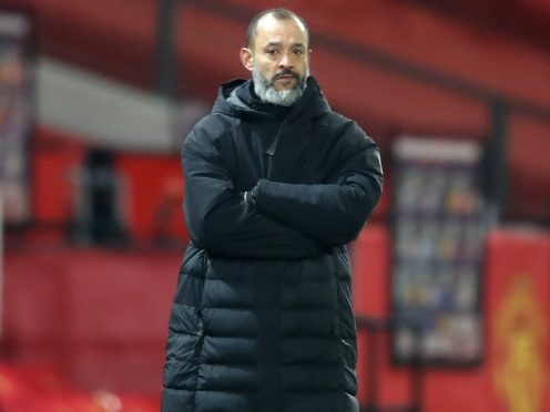 Wolves manager Nuno Espirito Santo is looking to sign players this month (Martin Rickett/PA)