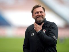 Ralph Hasenhuttl boasted about Southampton's superior defensive record ahead of the visit of Liverpool (Nick Potts/PA)