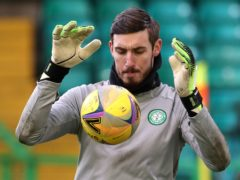 Celtic's Vasilis Barkas needs to improve, says boss Neil Lennon (Andrew Milligan/PA)