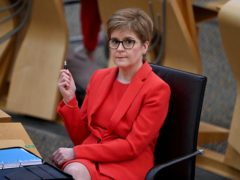 The First Minister is to recall parliament on Monday (Jeff J Mitchell/PA)