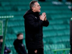 Dundee United manager Micky Mellon expecting another test against Aberdeen (Andrew Milligan/PA)