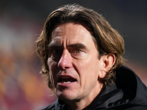 Brentford manager Thomas Frank has tested positive for coronavirus (John Walton/PA)
