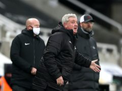 Steve Bruce is glad to have his team playing further up the pitch (Scott Heppell/PA)