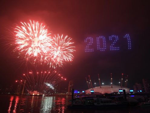Despite restrictions, NYE was still a busy one for police forces in England (Victoria Jones/PA)