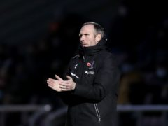 Michael Appleton's Lincoln were beaten by Doncaster (Bradley Collyer/PA)