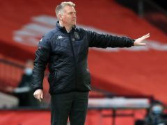 Aston Villa manager Dean Smith has suffered a troubled build-up to the game (Lindsey Parnaby/PA)