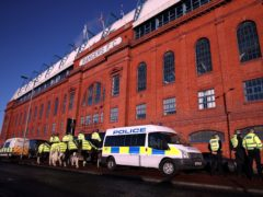 Three people were charged following the Old Firm game (Andrew Milligan/PA)