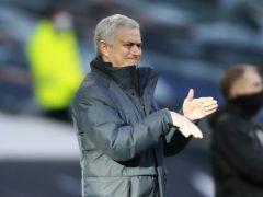 Tottenham manager Jose Mourinho (Ian Walton/PA)