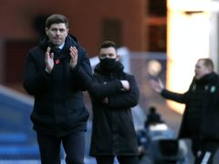Rangers manager Steven Gerrard, pictured, hailed keeper Allan McGregor after the win over Celtic (Andrew Milligan/PA)