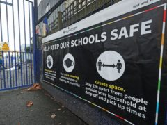 Pressure continues to mount on the Government to keep schools closed as Covid cases rise (Yui Mok/PA)