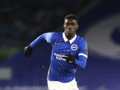 Yves Bissouma scored a stunning goal for Brighton (Gareth Fuller/PA)