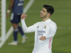 Marco Asensio created the opening goal and scored a second for Real Madrid (Manu Fernandez/AP)