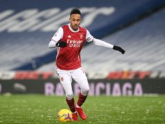 Pierre-Emerick Aubameyang will not face Southampton (Michael Regan/PA)