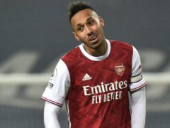 Pierre-Emerick Aubameyang has missed Arsenal's last two matches as he tended to his ill mother (Rui Vieira/PA)