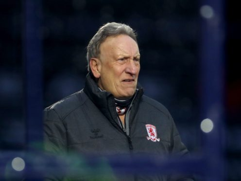 Middlesbrough manager Neil Warnock will assess his squad before naming a team to face Birmingham (Bradley Collyer/PA)