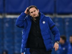 Frank Lampard knows the pressure is increasing on him at Chelsea (Andy Rain/PA)