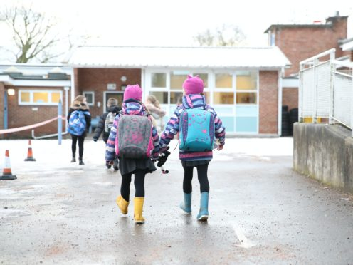 School leaders are expecting a significant proportion of eligible pupils to attend (Martin Rickett/PA)