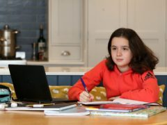 The BBC Scotland programming will help with home learning (Martin Rickett/PA)