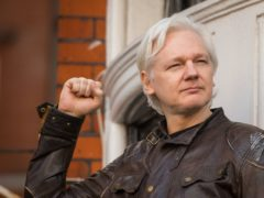 Julian Assange has won his fight to avoid extradition to the United States and on Wednesday will apply for bail to leave Belmarsh Prison (Dominic Lipinski/PA)