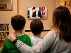 Prime Minister's lockdown statement watched by 15.6 million on BBC (Martin Rickett/PA)
