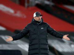 Liverpool manager Jurgen Klopp thinks modern scrutiny of football can be 'crazy' (Adam Davy/PA)