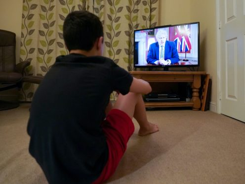Prime Minister Boris Johnson's televised statement on new coronavirus restrictions was watched by an average audience of more than 24 million people (Zac Goodwin/PA)