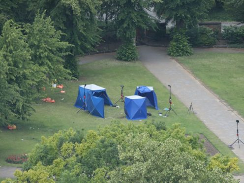 Khairi Saadallah stabbed three people to death and injured three others in Forbury Gardens in Reading in June 2020 (Jonathan Brady/PA)